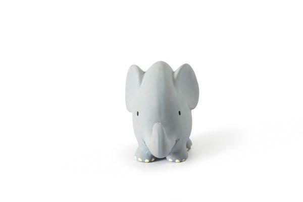 Tikiri Bijt- en Badspeelgoed met Rammelaar olifant