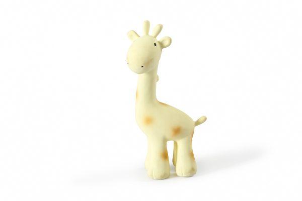 Tikiri Bijt- en Badspeelgoed met Rammelaar giraf
