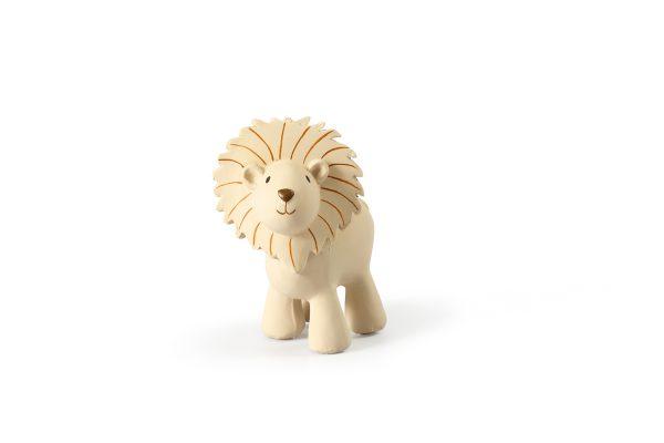 Tikiri Bijt- en Badspeelgoed met Rammelaar leeuw