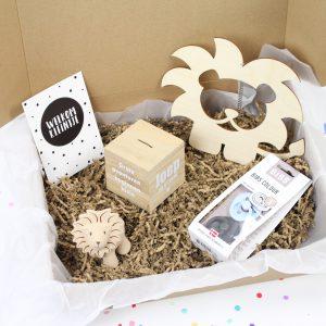 persoonlijke happy box spaarpot