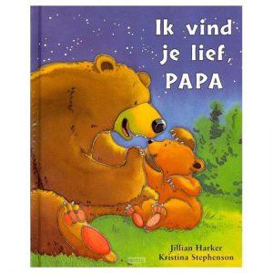 boek papa ik vind je lief