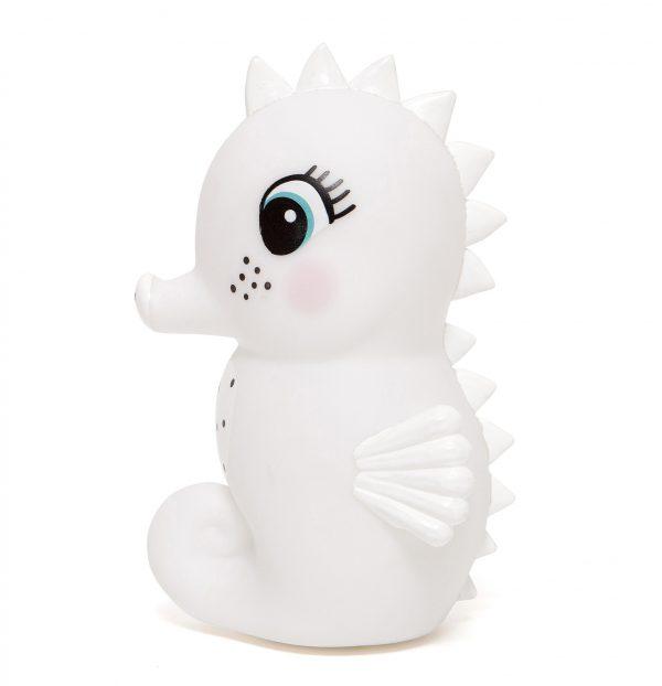 nachtlampje zeepaardje wit