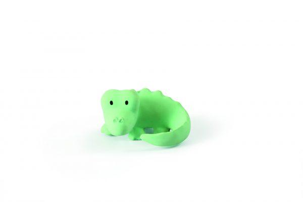 Tikiri Bijt- en Badspeelgoed met Rammelaar krokodil
