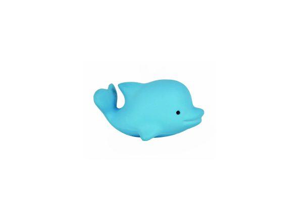 Tikiri Bijt- en Badspeelgoed met Rammelaar dolfijn