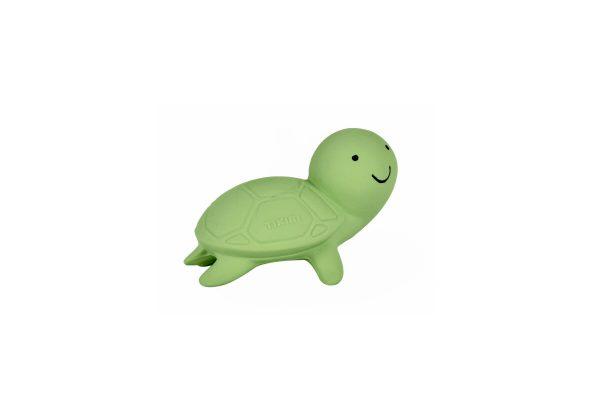 Tikiri Bijt- en Badspeelgoed met Rammelaar schildpad