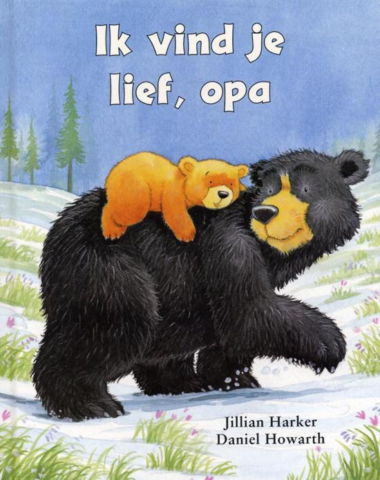 boek Ik vind je lief Opa
