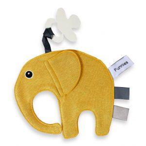 funnies olifant ollie speendoek oker