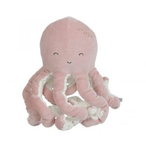 little dutch knuffel octopus roze