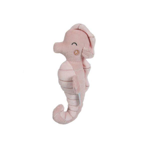 little dutch rammelaar zeepaardje roze