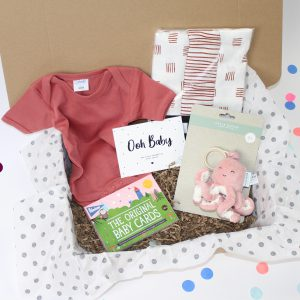 Happy baby box expecting something sweet