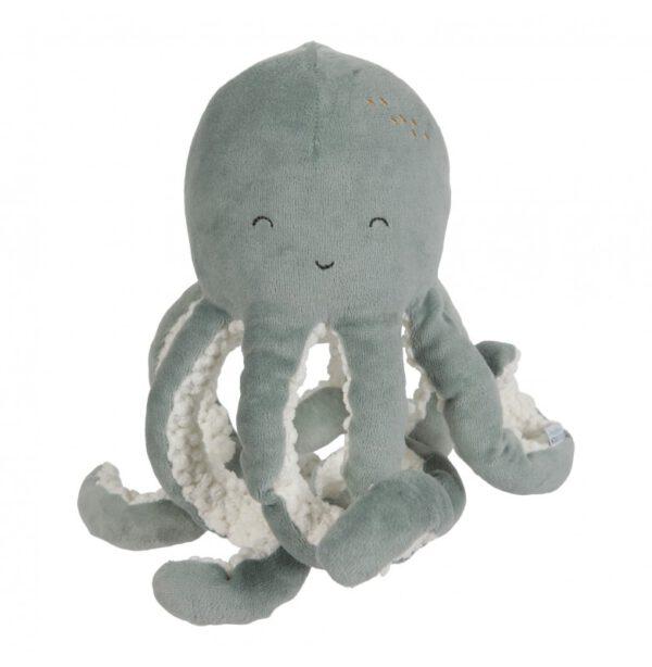 little dutch knuffel octopus mint