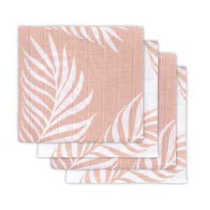 Jollein Hydrofiel multidoek nature pale pink 4pack 2