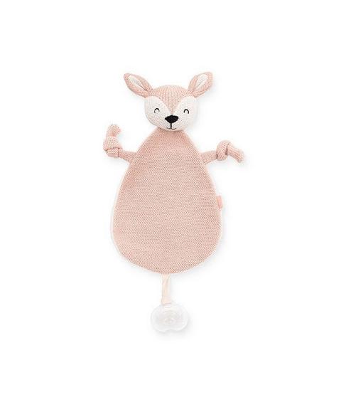 jollein speendoekje deer pale pink