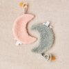 Jollein Speendoekje Moon - pale pink