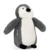 Jollein Knuffel Pinguin - storm grey