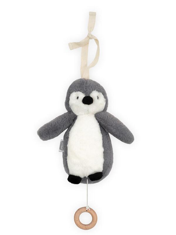 Jollein muziekhanger pinguin storm grey