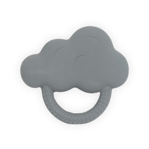 Jollein Bijtring Rubber Cloud - Storm Grey