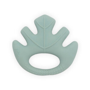 Jollein Bijtring Rubber Leaves - Ash Green