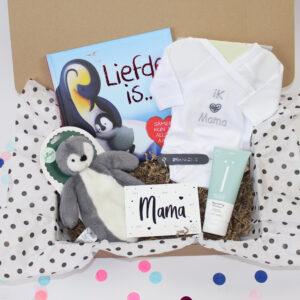 Happy mama Box   zooo blij een mini jij