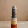 mushie stacking cups retro