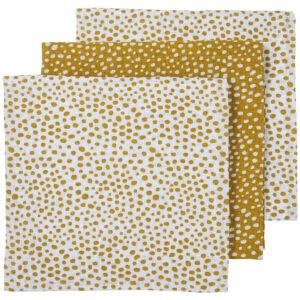 Meyco luiers 3-pack-Cheetah honey gold