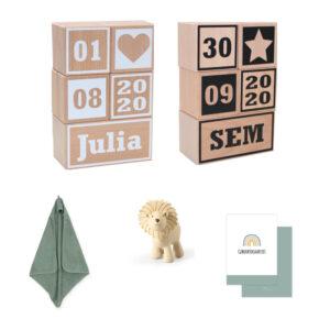 persoonlike box geboorteblokken