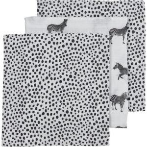 Meyco luiers 3-pack zebra black