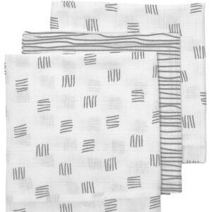Meyco luiers 3-pack block stripe grijs
