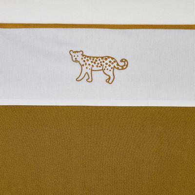 meyco laken cheetah honey gold