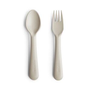 mushie bestekset Ivory_spoon_fork