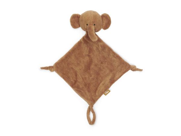 Jollein, knuffeldoekje elephant caramel