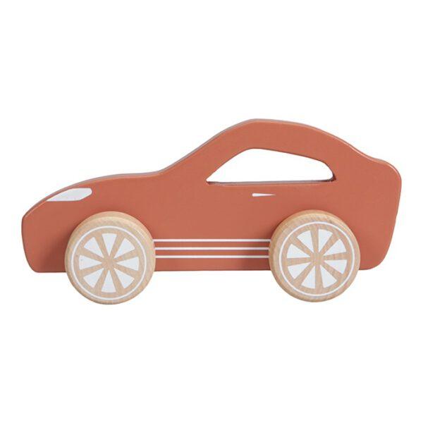 Houten Sportauto Roest