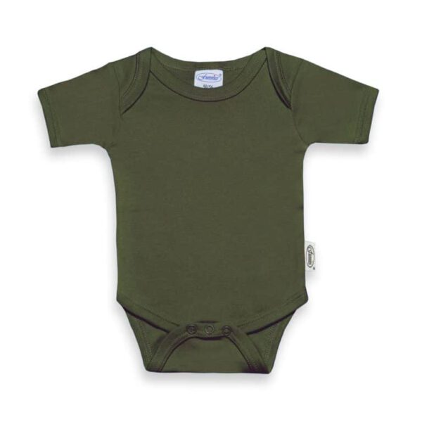 forest-green romper
