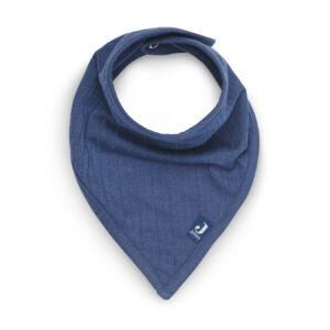 Slabbetje Bandana - Basic Stripe - Jeans Blue