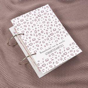 Geboortekaartjesbundel Bubbles - Lilac